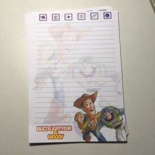 Toy Story Notepad