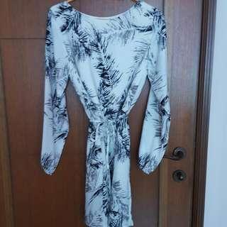 Mid Sleeved Dress