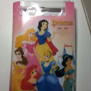 Disney Princess Mini Clipboard Notepad