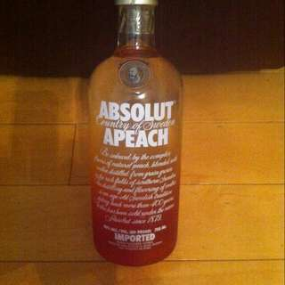 Absolut Apeach Vodka 酒