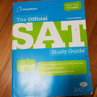 SAT Official Study Guide Second Edition