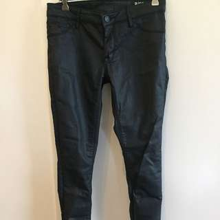 RES Denim Leather Wash Jeans