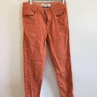 Gorman Burnt Orange Skinny Leg Jeans