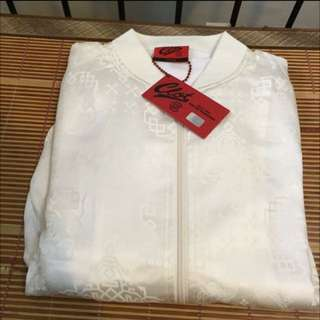 Clot 早期白絲綢 夾克