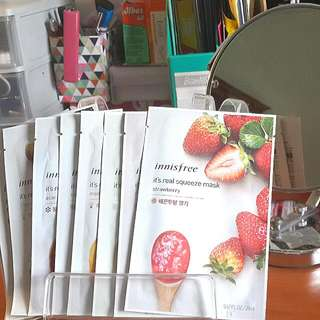 "9 Innisfree ""It's a real squeeze mask"""