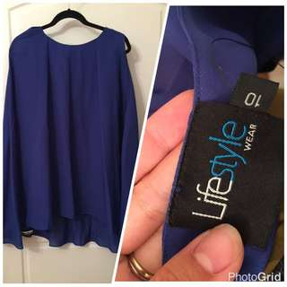 Brand new Cape Style Top