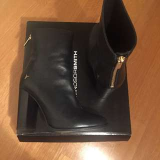 Leather Windsor Smith Black Boots