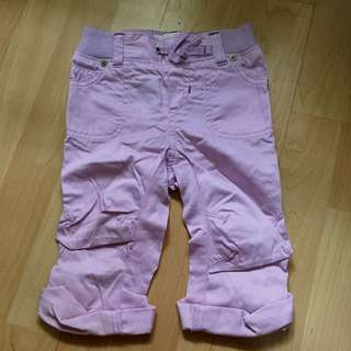 Old Navy Lilac Cropped Pants