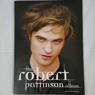 Robert Pattinson Book & Twilight Parody Book