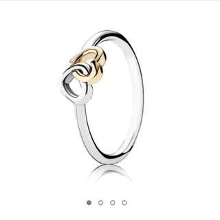 Pandora Heart To Heart Ring