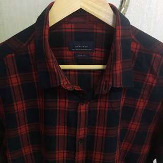 ORI ZARA Flannel Red
