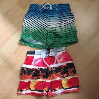 2 Sets Of Swim Shorts From Koala Baby