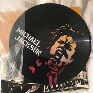 Original Michael Jackson Spray Paint Record
