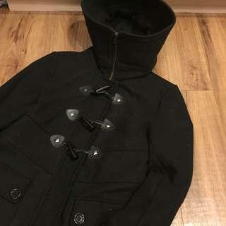 百貨專櫃牛角釦外套