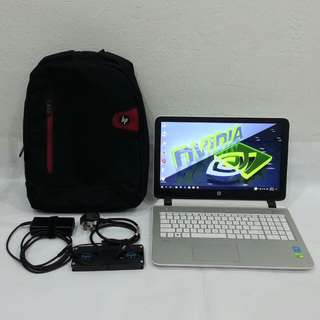 HP Pavilion 15 Core i5-4210U, 8GB DDR3 Ram, 1TB SATA HDD, NVIDIA GeForce 830M @ 2GB DDR3 VRAM, 15.6 inch
