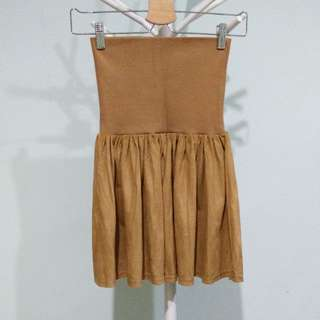 Reprice Suede Skirt