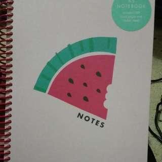 Kikki K A5 Everyday notebook watermelon cute