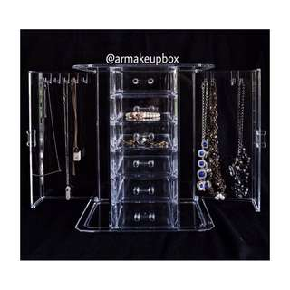 Acrylic Necklace Organizer
