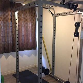 (Reserved) Rack Gym For Home Use