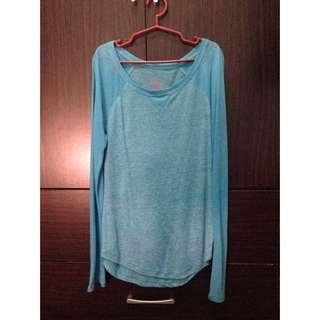 xhillaration blue pullover