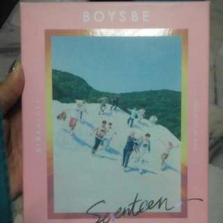 SEVENTEEN 2ND MINI ALBUM BOYS BE HIDE VER