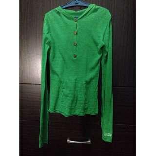 oneil green sweater