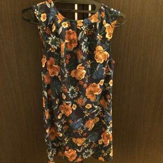 Mango Flower Dress