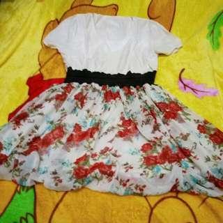 dress flower oke