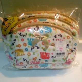 Brand NEW Naraya Cosmetic Bags