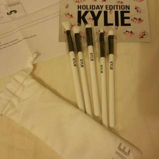 Kylie Holiday Edition brush Set