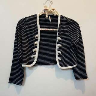 KOREAN CROPPEDTOP CARDIGAN