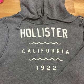 HOLLISTER 灰帽T