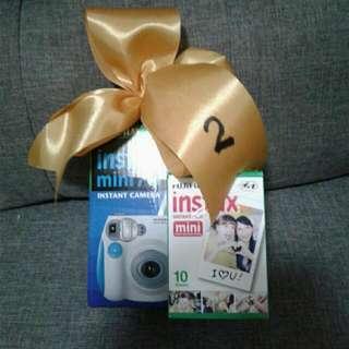Fujifilm Instax Mini 7s-Brand New w/ Free Film 10 shots
