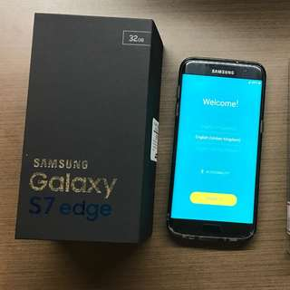 RESERVED (6pm) Mint Samsung S7 Edge