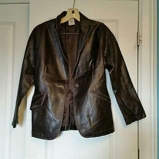 *Now Reduced* Leather Jacket- Brand 725