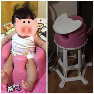 💕reserved💕 Bumbo High Chair W/ Table