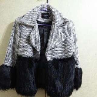 時尚短版外套