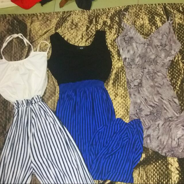 Reserved 2 Maxi Dress And 1 Jumpsuit