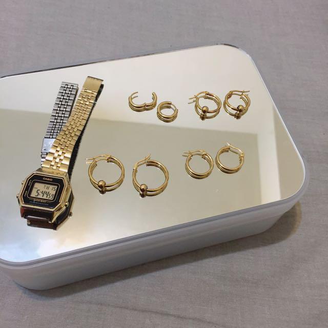熱銷款耳環有金色啦!
