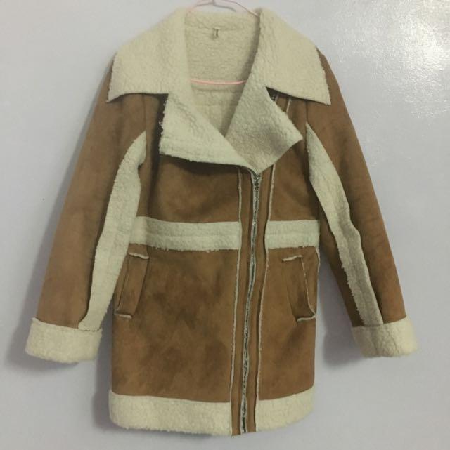 時尚又保暖中長版外套🤗🤗👍🏼👍🏼👍🏼