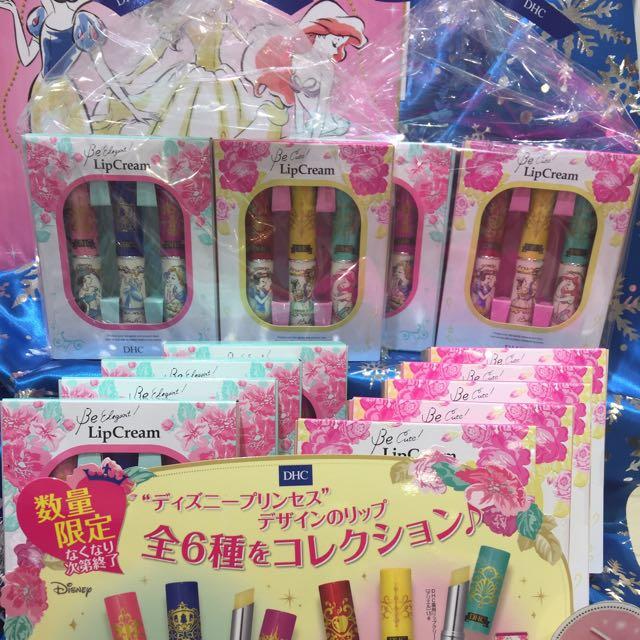 迪士尼公主護唇膏禮盒 可議價