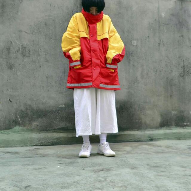 香港購入古著 DHL的制服外套
