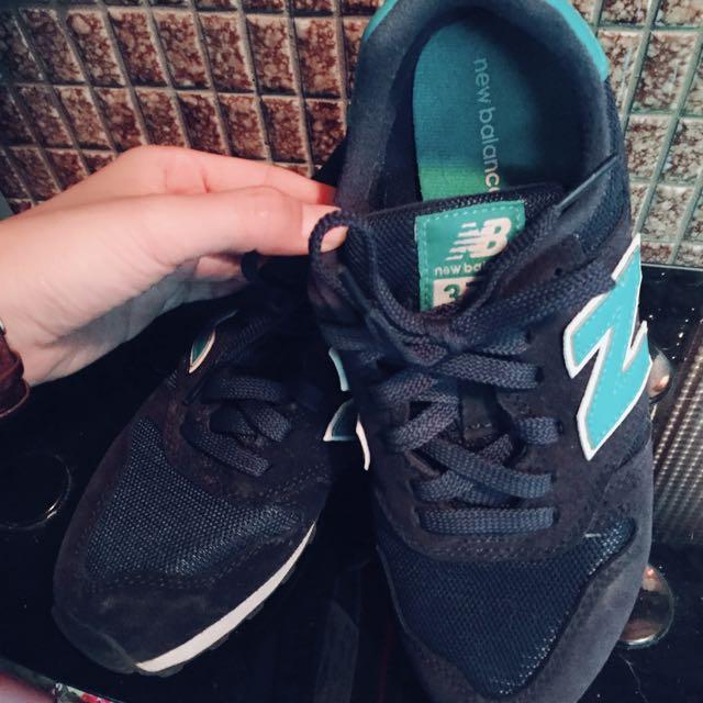 ❤️ New balance 373 靛色 布鞋