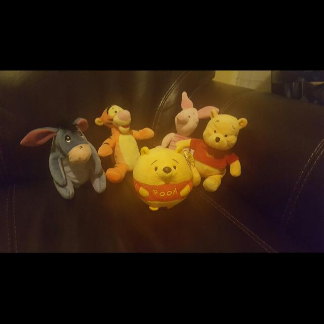 Assorted Disney Plush Toys