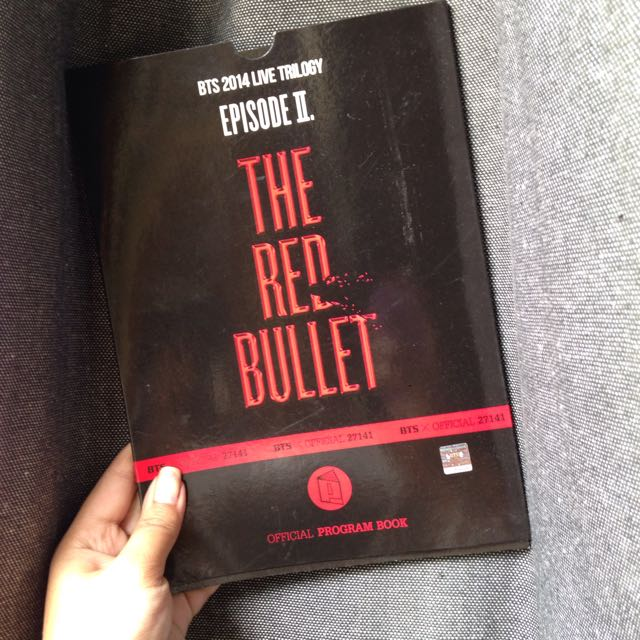 BTS Red Bullet Tour Guidebook