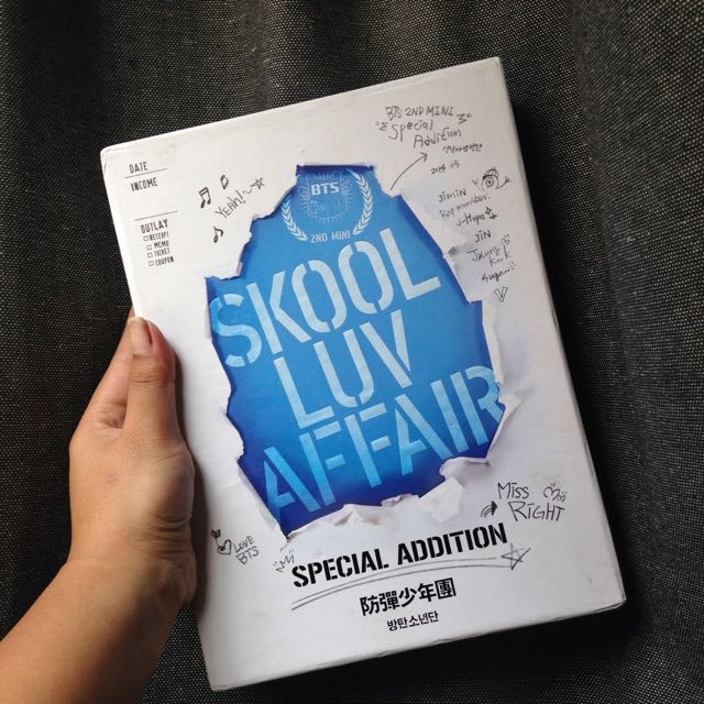 BTS SKOOL LUV AFFAIR SPECIAL EDITION