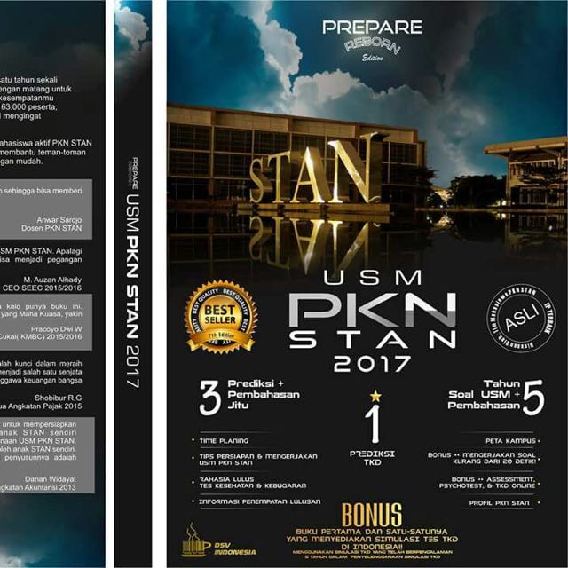 Buku USM STAN 2017