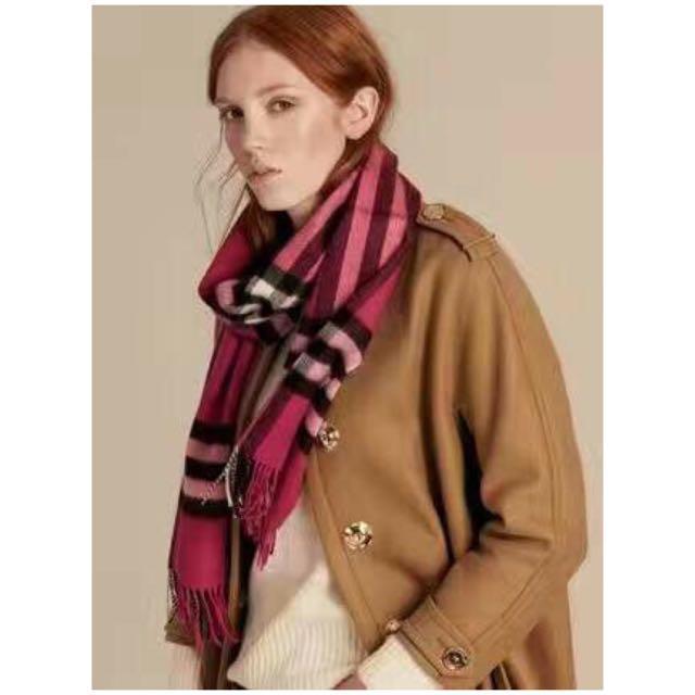 Burberry 圍巾 (多色)