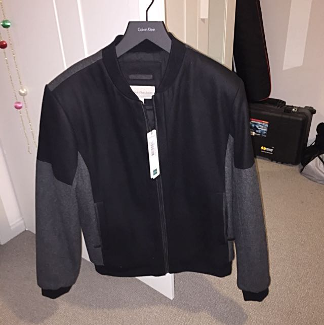 Calvin Klein Bomber Down Jacket