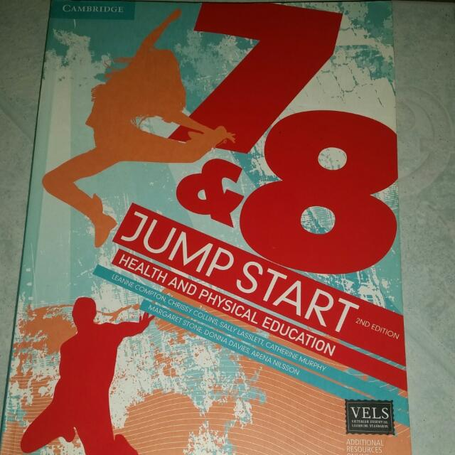Cambridge Health and Physical Education 2nd edition - Year 7 and 8
